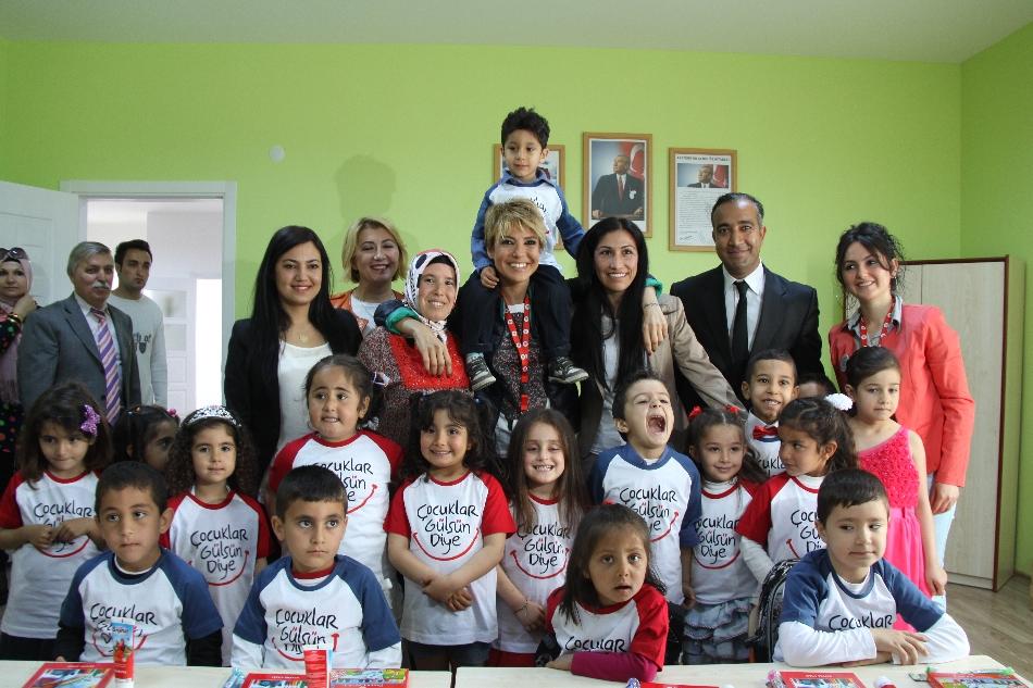 Çocuklar Gülsün Diye Derneği 20. anaokulunu Konya'da açtı 65