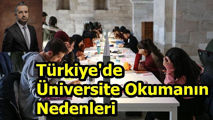 Türkiye'de Üniversite Okumanın Nedenleri