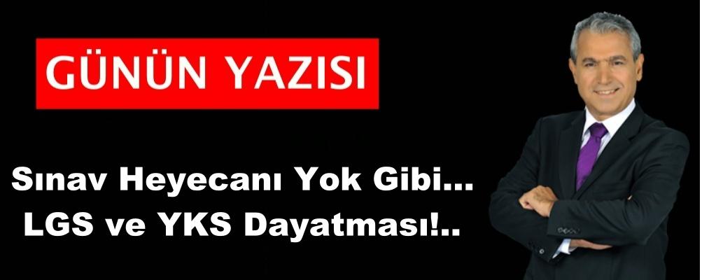 Sınav Heyecanı Yok Gibi... LGS ve YKS Dayatması!..