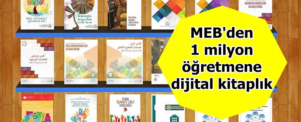 MEB'den 1 milyon öğretmene dijital kitaplık
