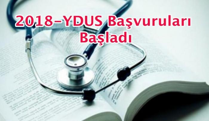 2018-YDUS Başvuruları Başladı