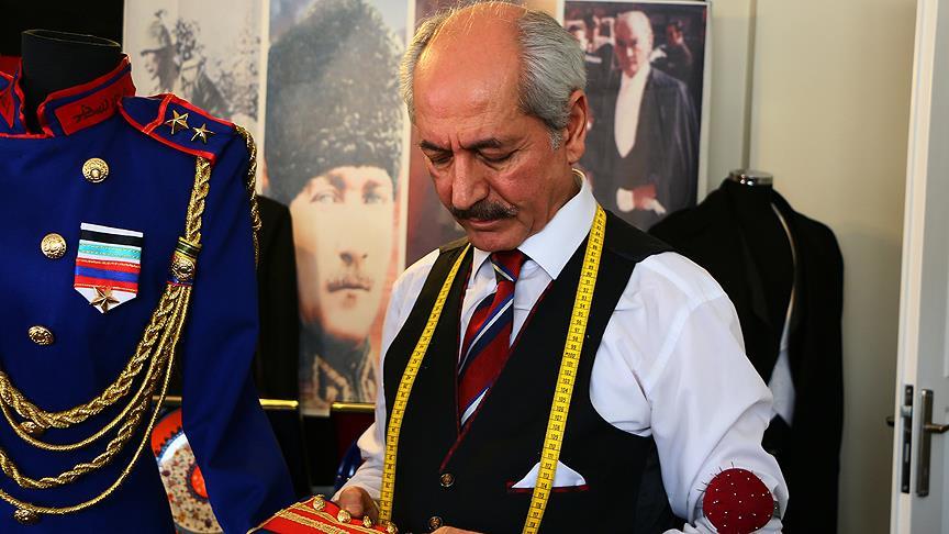 Atatürk kıyafetleri şehit yakınları için sergilenecek