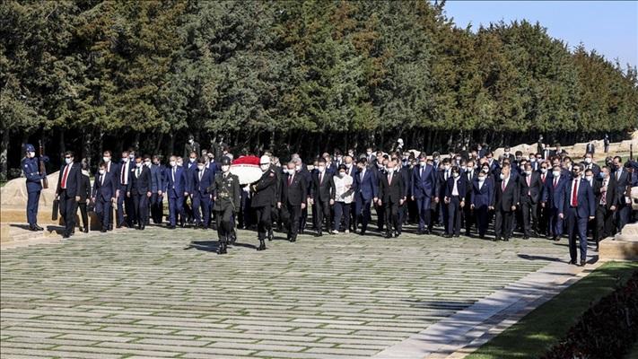 23 Nisan kutlanıyor! Anıtkabir'de tören...