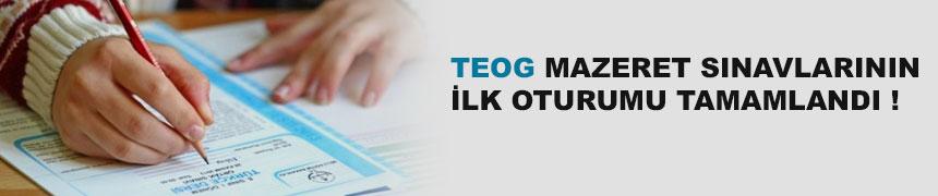 TEOG mazeret sınavlarının ilk günkü oturumları tamamlandı