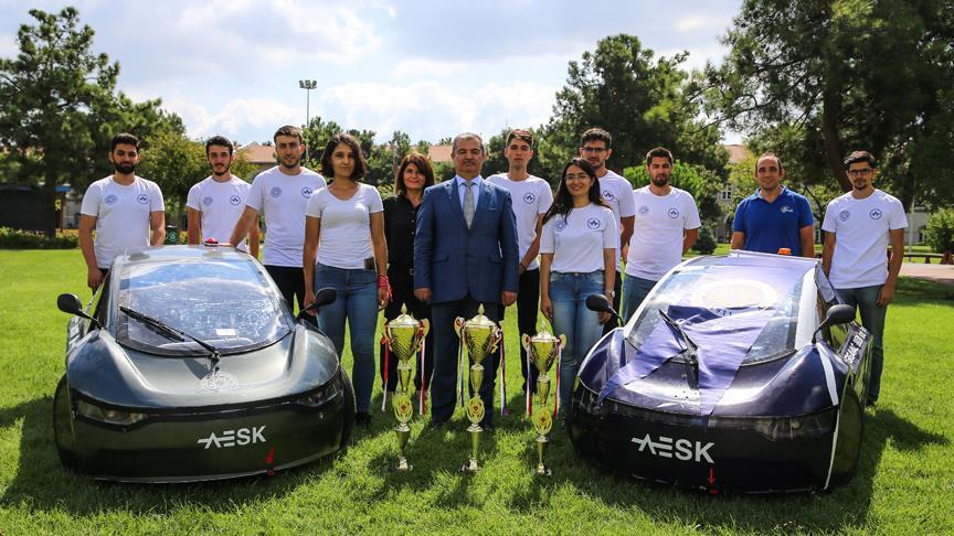 YTÜ öğrencilerinin 'yerli ve milli otomobil' rüyası