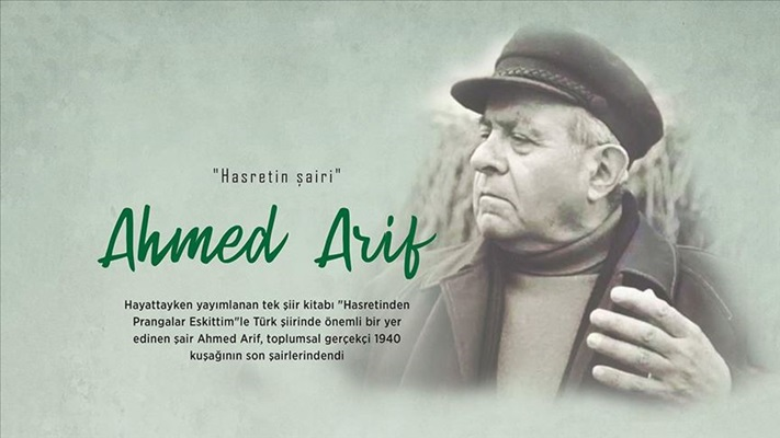 Hasretin şairi: Ahmed Arif
