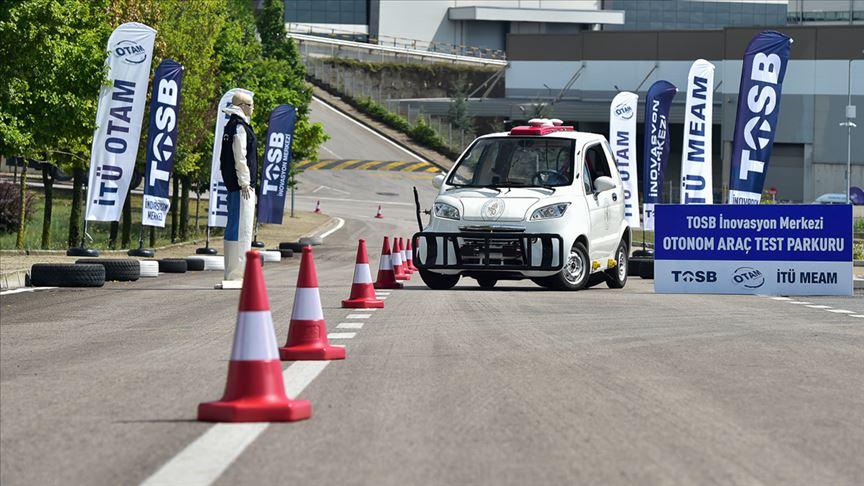 'Sürücüsüz Araç Test Parkuru' kullanıma açıldı