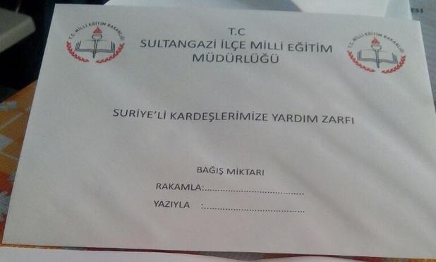 Milli Eğitim'in Okullara Gönderdiği Zarf Tepki Çekti..