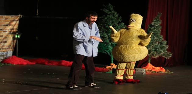 Ücretsiz çocuk tiyatrolarına büyük ilgi