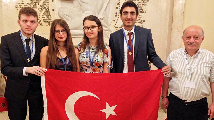Türk Matematik Milli Takımı'nın olimpiyat başarısı
