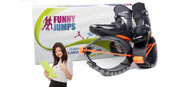 Funny Jumps Zıplama Ayakkabısı ile Egzersiz