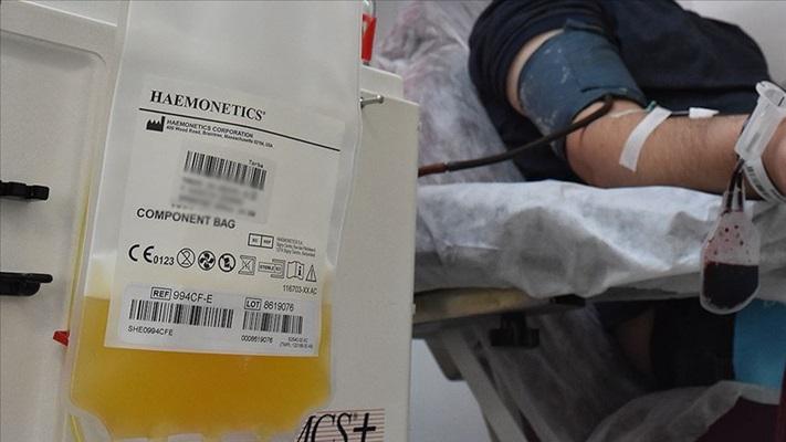 Türkiye'de ilk plazma tedavisi uygulanan Kovid-19 hastası iyileşti