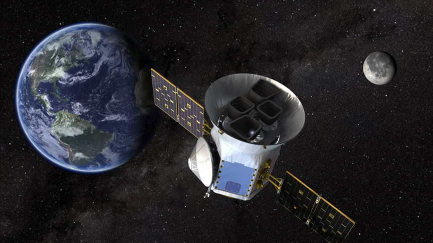 NASA'nın TESS uydusu keşif görevinin ilk yılını tamamladı