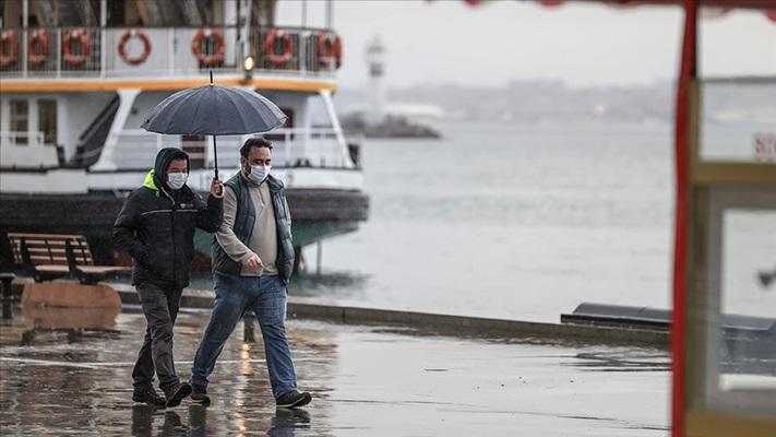 İstanbul'da sağanak yağış etkili olacak