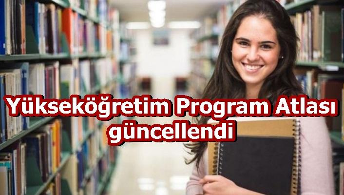 Yükseköğretim Program Atlası güncellendi