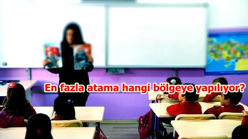 Öğretmen doluluk oranlarında Ege birinci Marmara sonuncu