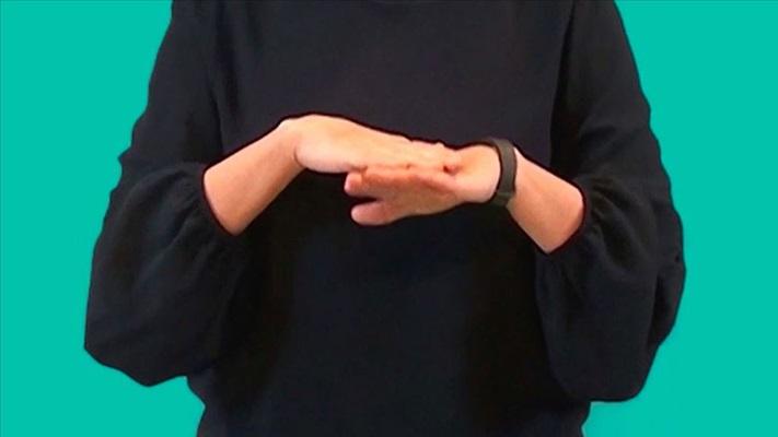 Sağlıkta Kovid-19 engelleri 'işaret dili' ile aşılıyor