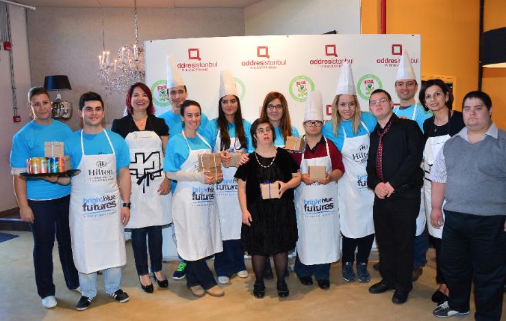 Hilton İstanbul Bomonti'den Down sendromlu gençlere destek