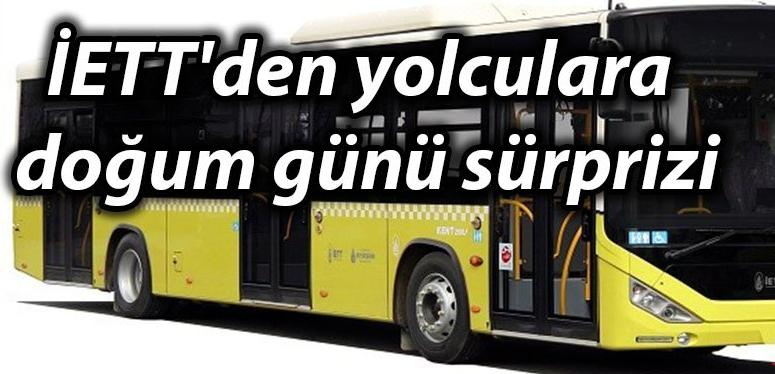 Doğum Gününde Otobüse Binenlere Büyük Sürpriz