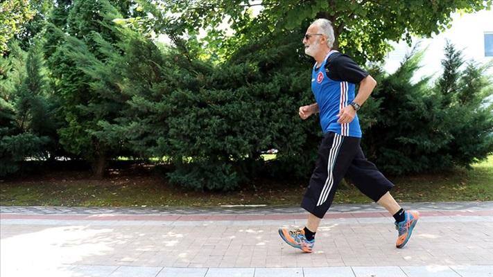 Kovid-19 salgınında 65 yaş üstündekiler spora yöneldi