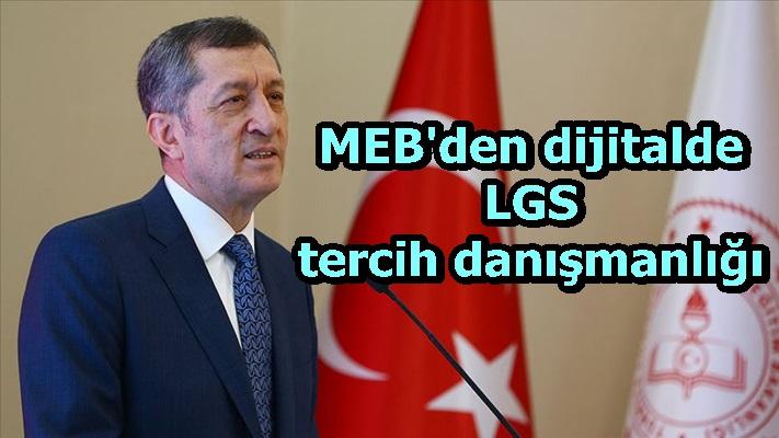 MEB'den dijitalde LGS tercih danışmanlığı
