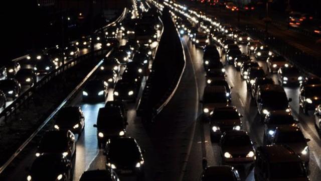 Bayram öncesi trafik çilesi başladı