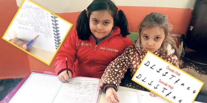 El yazısı işkencesi, çocuklar okula gitmek istemiyor