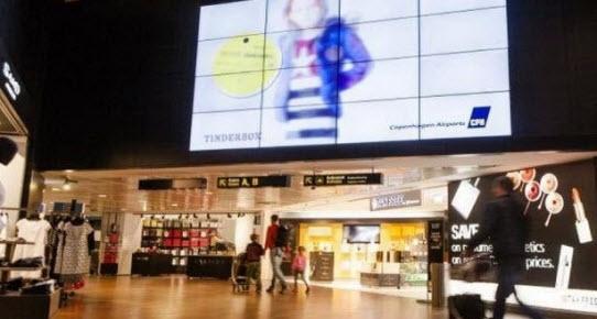 Havaalanlarında akıllı reklam panosu dönemi