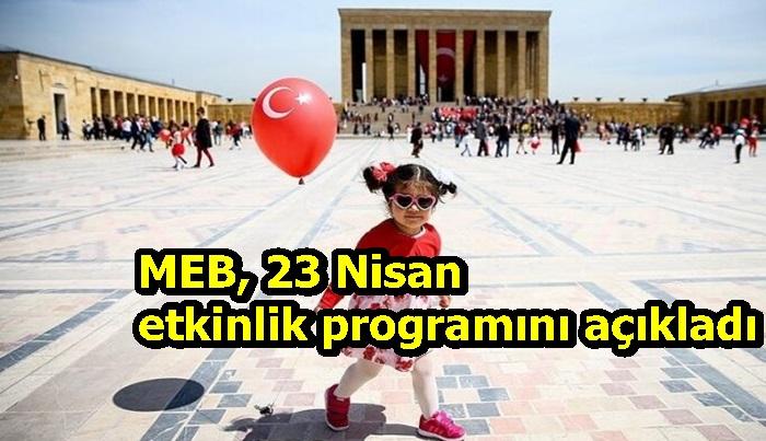 MEB, 23 Nisan etkinlik programını açıkladı