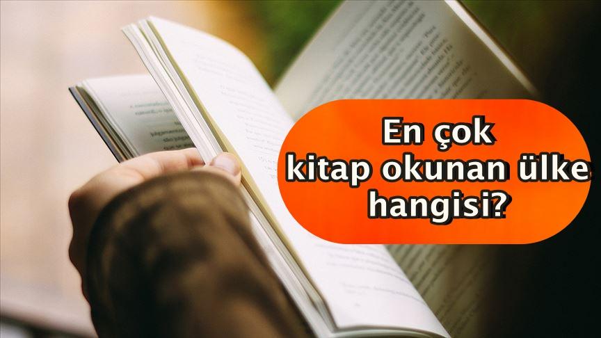 En çok kitap okunan ülke hangisi?