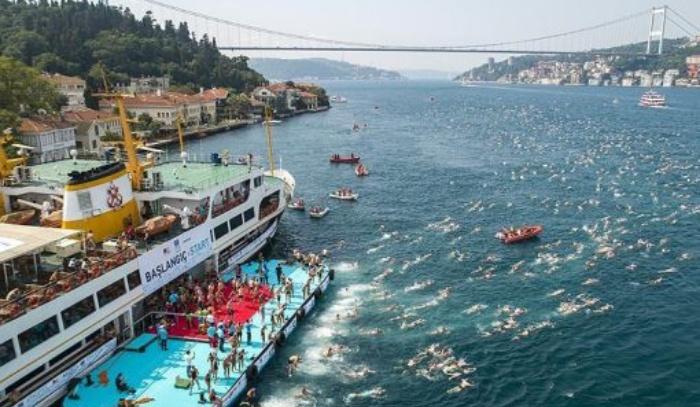 32. Samsung Boğaziçi Kıtalararası Yüzme Yarışı Başvuruları 4 Ocak'ta Başlıyor