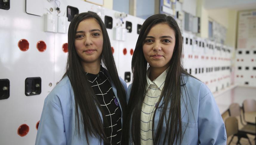 'Filizlerin Mucizeleri Projesi' ile kızlar sanayiye