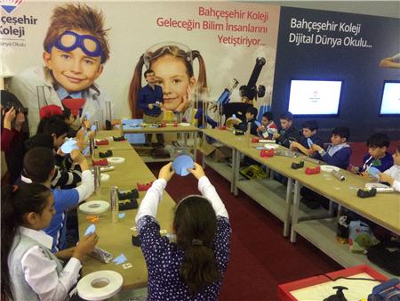 Bahçeşehir Koleji CNR Fuarı'nda