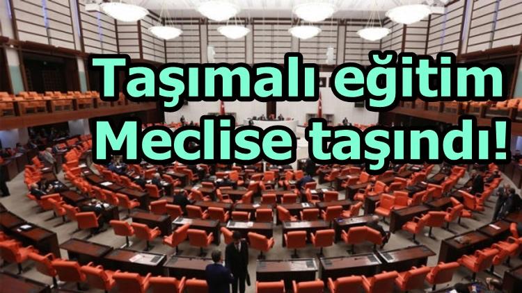 Taşımalı eğitim Meclise taşındı!