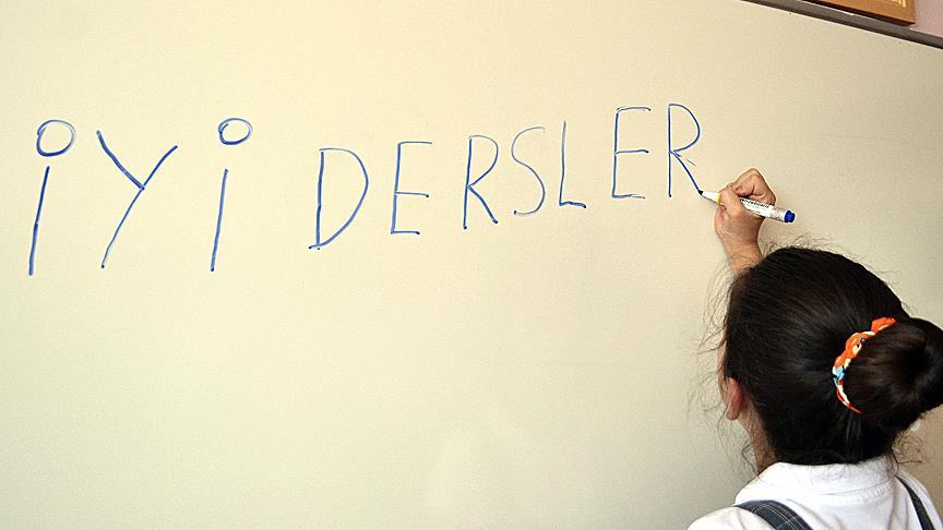 İlkokul birinci sınıflarda 'dik temel harf' dönemi başlıyor