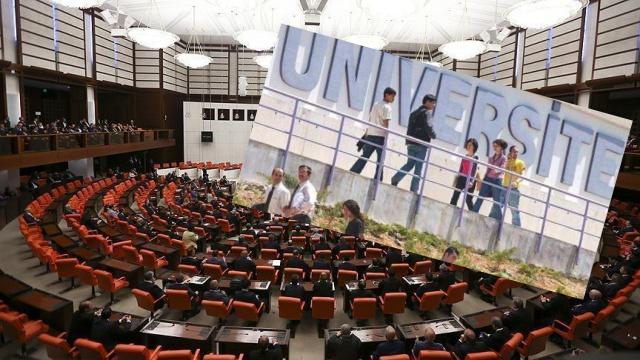 Konya Teknik Üniversitesi'nin kurulması için kanun teklifi
