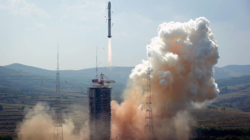 Çin uzaya iletişim uydusu gönderdi