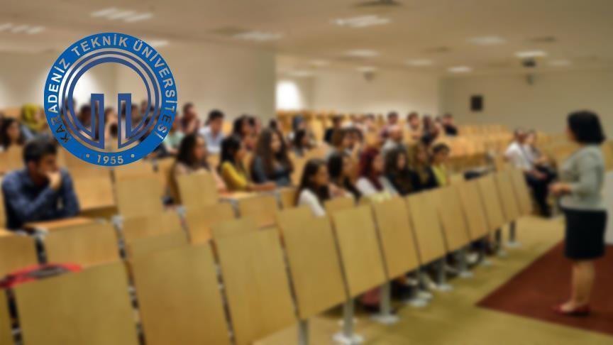 KTÜ'ye 17'si profesör 45 akademisyen alınacak