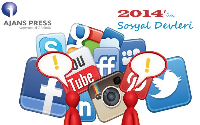 Facebook'un Tahtını Twitter kaptı! İşte, Yılın Sosyal Devleri