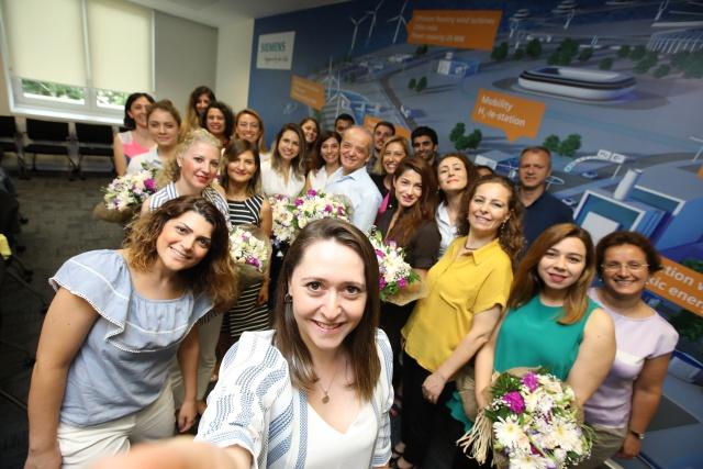 Siemens Türkiye'den geleceğin kadın mühendislerine desteğiü