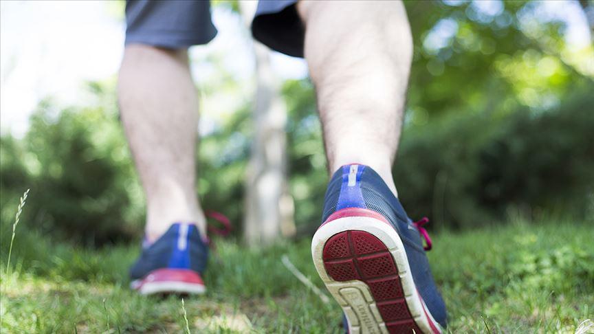 'Yürüyüşle moraliniz düzelir'