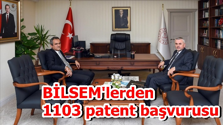BİLSEM'lerden 1103 patent başvurusu