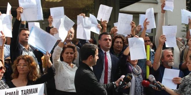 İstanbul MEM önünde 'proje okul' protestosu