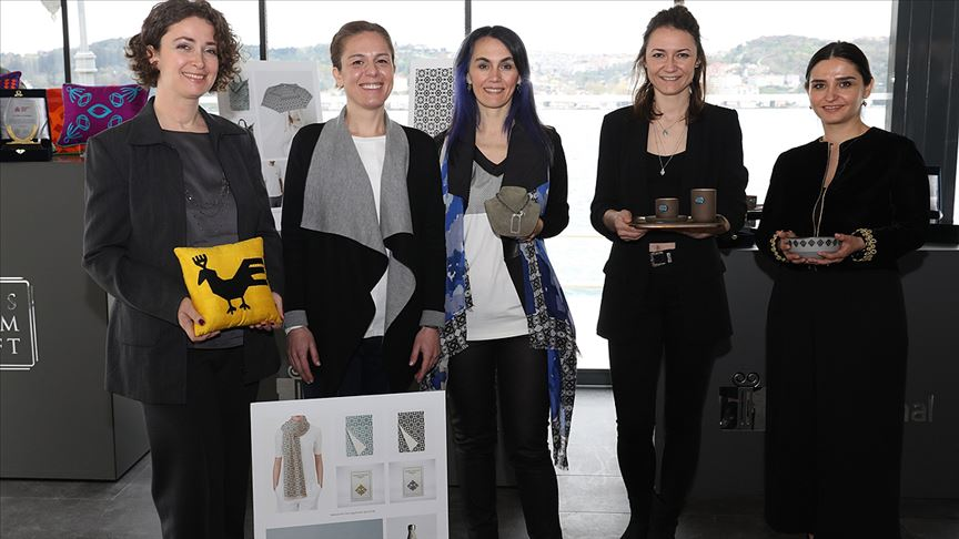 'Anadolu'nun Kadın Gücü' tasarımlarla ortaya çıktı