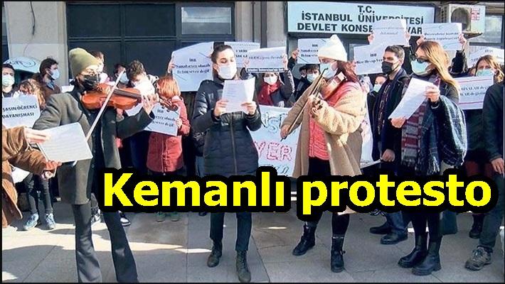 Kemanlı protesto