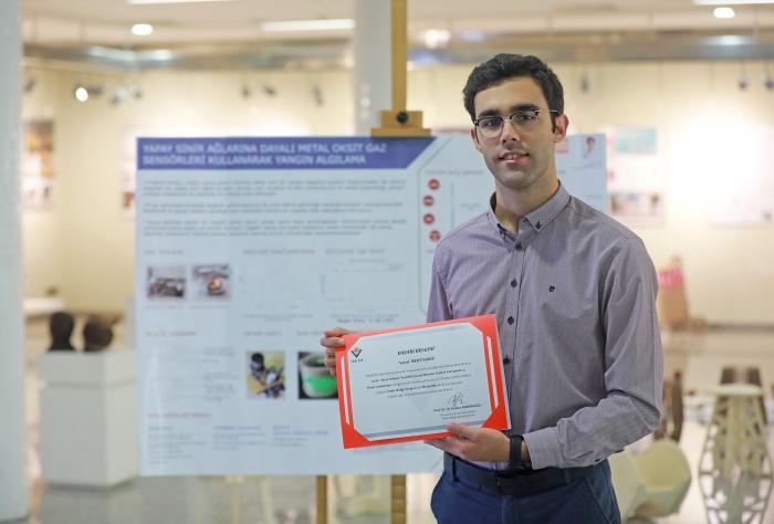 Genç akademisyen Türkiye birincisi oldu