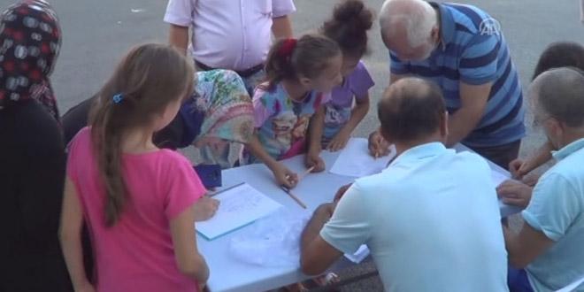 Kapatılan pansiyonun ilkokul yapılması için imza kampanyası