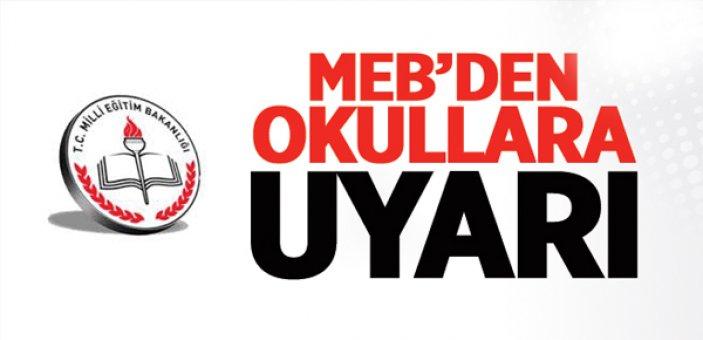 MEB'den okullara 'kurs ücreti' uyarısı