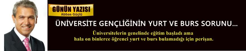 Üniversite Gençliğinin Yurt ve Burs Sorunu!