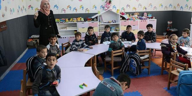 Kamplarda 80 bin Suriyeli öğrenci eğitim görüyor